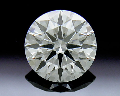 0.614 ct I SI1 A CUT ABOVE® Hearts and Arrows Super Ideal Round Cut Loose Diamond