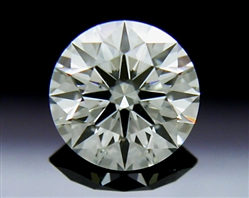 0.53 ct J VS1 A CUT ABOVE® Hearts and Arrows Super Ideal Round Cut Loose Diamond