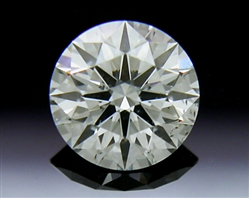 0.532 ct J SI1 A CUT ABOVE® Hearts and Arrows Super Ideal Round Cut Loose Diamond
