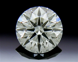 0.531 ct J SI1 A CUT ABOVE® Hearts and Arrows Super Ideal Round Cut Loose Diamond