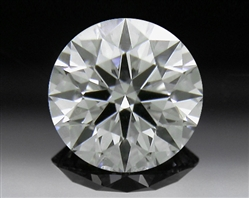 0.423 ct F SI1 A CUT ABOVE® Hearts and Arrows Super Ideal Round Cut Loose Diamond