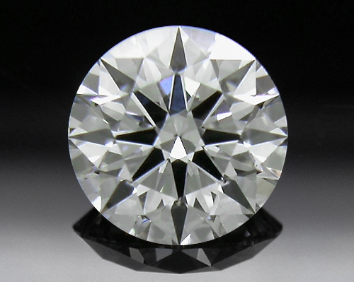 0.40 ct F SI1 A CUT ABOVE® Hearts and Arrows Super Ideal Round Cut Loose Diamond