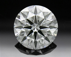 0.427 ct G SI1 A CUT ABOVE® Hearts and Arrows Super Ideal Round Cut Loose Diamond