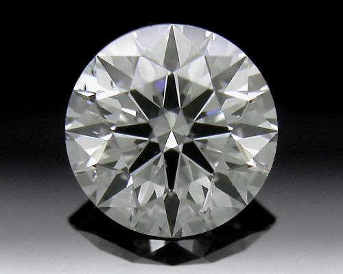 0.418 ct H SI1 A CUT ABOVE® Hearts and Arrows Super Ideal Round Cut Loose Diamond