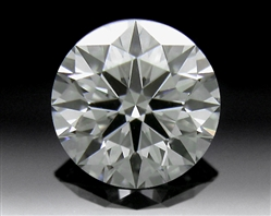 0.413 ct J VS2 A CUT ABOVE® Hearts and Arrows Super Ideal Round Cut Loose Diamond