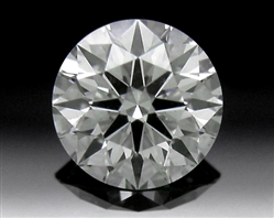 0.418 ct I SI1 A CUT ABOVE® Hearts and Arrows Super Ideal Round Cut Loose Diamond