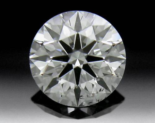 0.433 ct J SI1 A CUT ABOVE® Hearts and Arrows Super Ideal Round Cut Loose Diamond