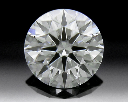 0.434 ct I SI1 A CUT ABOVE® Hearts and Arrows Super Ideal Round Cut Loose Diamond