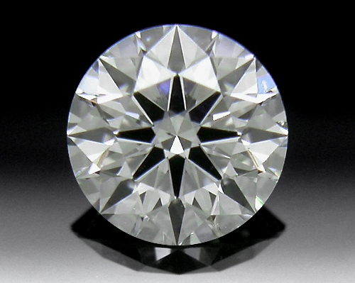 0.316 ct H SI1 A CUT ABOVE® Hearts and Arrows Super Ideal Round Cut Loose Diamond