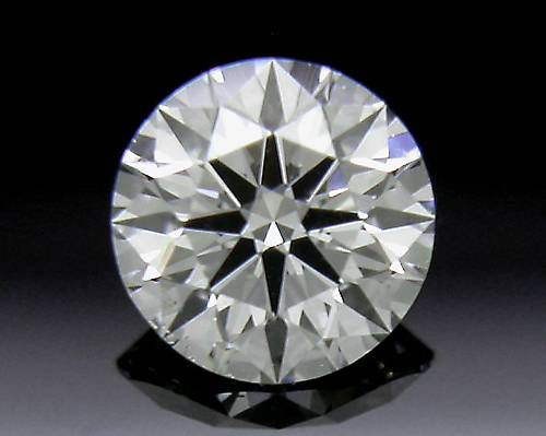 0.324 ct H SI2 A CUT ABOVE® Hearts and Arrows Super Ideal Round Cut Loose Diamond