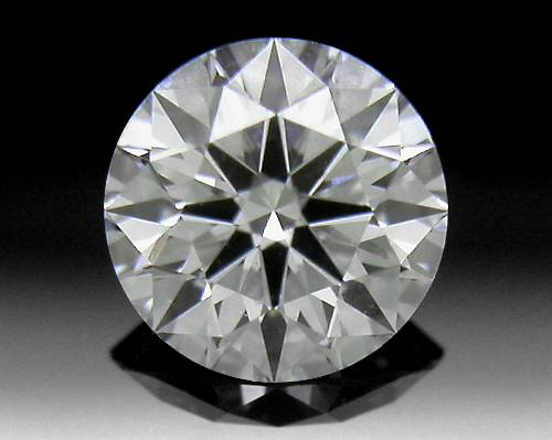 0.326 ct G SI1 A CUT ABOVE® Hearts and Arrows Super Ideal Round Cut Loose Diamond