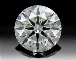 0.343 ct G SI1 A CUT ABOVE® Hearts and Arrows Super Ideal Round Cut Loose Diamond