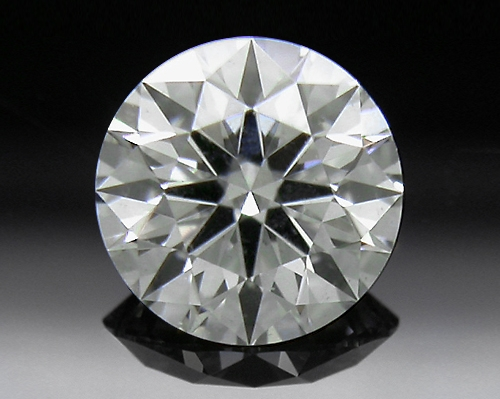 0.322 ct H SI1 A CUT ABOVE® Hearts and Arrows Super Ideal Round Cut Loose Diamond