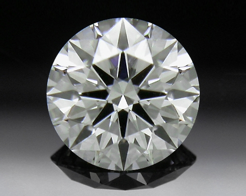 0.321 ct J VS1 A CUT ABOVE® Hearts and Arrows Super Ideal Round Cut Loose Diamond