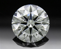 0.332 ct J VS2 A CUT ABOVE® Hearts and Arrows Super Ideal Round Cut Loose Diamond
