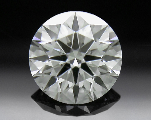 0.388 ct J VS1 A CUT ABOVE® Hearts and Arrows Super Ideal Round Cut Loose Diamond