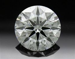 0.30 ct J SI1 A CUT ABOVE® Hearts and Arrows Super Ideal Round Cut Loose Diamond