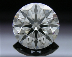 1.201 ct G VS2 A CUT ABOVE® Hearts and Arrows Super Ideal Round Cut Loose Diamond