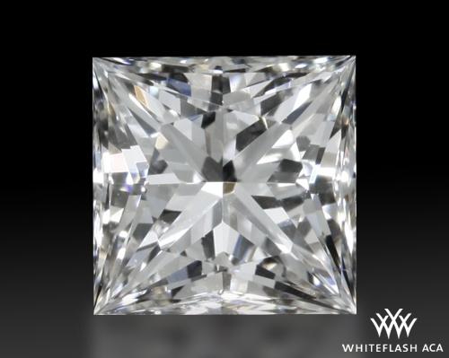 0.838 ct H VS1 A CUT ABOVE® Princess Super Ideal Cut Diamond