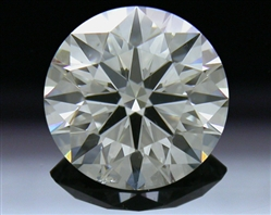 1.55 ct I SI1 A CUT ABOVE® Hearts and Arrows Super Ideal Round Cut Loose Diamond
