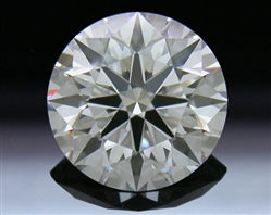 1.37 ct G VS1 A CUT ABOVE® Hearts and Arrows Super Ideal Round Cut Loose Diamond