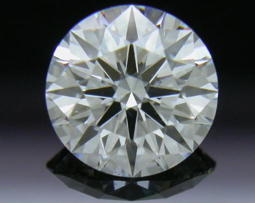 0.577 ct F VS2 A CUT ABOVE® Hearts and Arrows Super Ideal Round Cut Loose Diamond