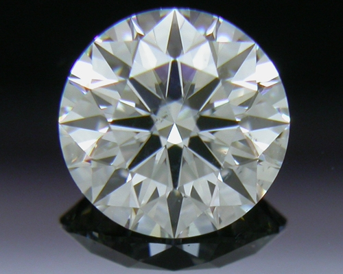 0.506 ct G SI1 A CUT ABOVE® Hearts and Arrows Super Ideal Round Cut Loose Diamond