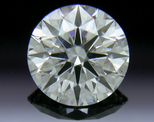 0.512 ct H VS1 A CUT ABOVE® Hearts and Arrows Super Ideal Round Cut Loose Diamond