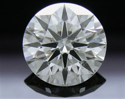 1.22 ct H SI1 A CUT ABOVE® Hearts and Arrows Super Ideal Round Cut Loose Diamond