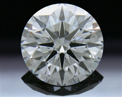 1.36 ct F SI1 A CUT ABOVE® Hearts and Arrows Super Ideal Round Cut Loose Diamond