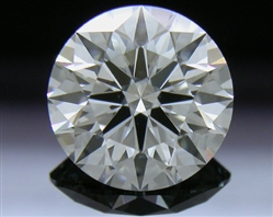 1.226 ct G SI1 A CUT ABOVE® Hearts and Arrows Super Ideal Round Cut Loose Diamond