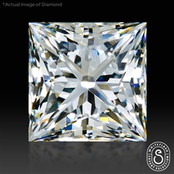 1.236 ct I VVS2 Expert Selection Princess Cut Loose Diamond