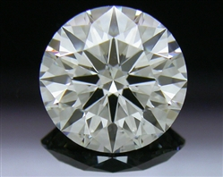 1.11 ct H SI1 A CUT ABOVE® Hearts and Arrows Super Ideal Round Cut Loose Diamond