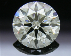 1.02 ct J SI1 A CUT ABOVE® Hearts and Arrows Super Ideal Round Cut Loose Diamond