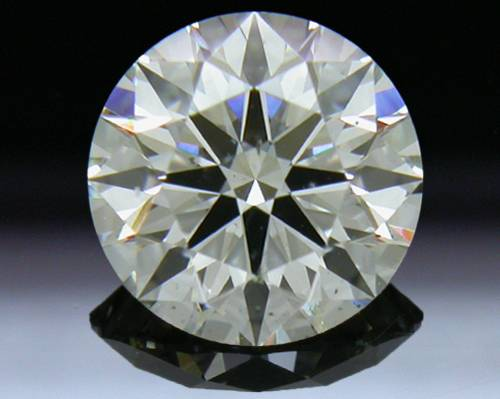 1.12 ct J SI1 A CUT ABOVE® Hearts and Arrows Super Ideal Round Cut Loose Diamond