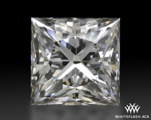 0.746 ct G SI1 A CUT ABOVE® Princess Super Ideal Cut Diamond