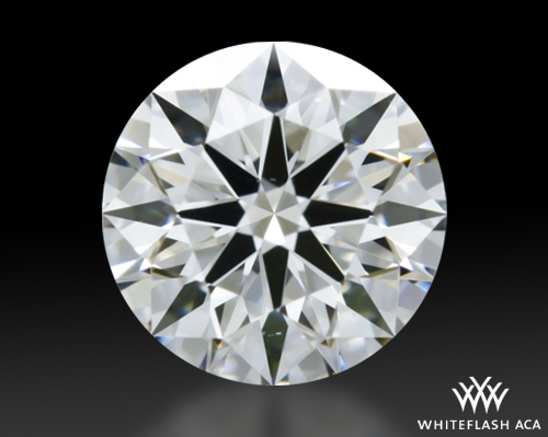 0.581 ct D VS1 A CUT ABOVE® Hearts and Arrows Super Ideal Round Cut Loose Diamond
