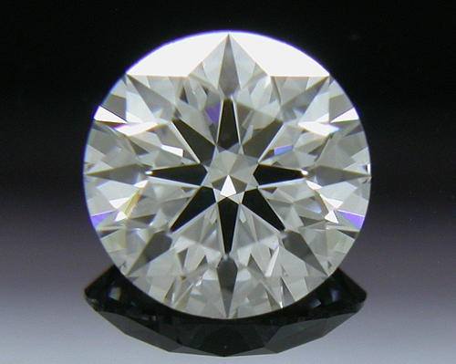0.502 ct D VS1 A CUT ABOVE® Hearts and Arrows Super Ideal Round Cut Loose Diamond