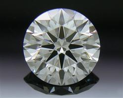 0.542 ct E VVS2 A CUT ABOVE® Hearts and Arrows Super Ideal Round Cut Loose Diamond