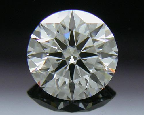 0.503 ct E SI1 A CUT ABOVE® Hearts and Arrows Super Ideal Round Cut Loose Diamond
