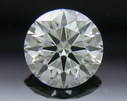 0.54 ct E VS2 A CUT ABOVE® Hearts and Arrows Super Ideal Round Cut Loose Diamond