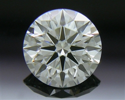 0.547 ct F VS1 A CUT ABOVE® Hearts and Arrows Super Ideal Round Cut Loose Diamond
