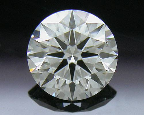 0.664 ct F VS2 A CUT ABOVE® Hearts and Arrows Super Ideal Round Cut Loose Diamond
