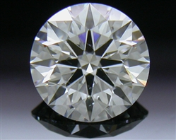0.581 ct G VS2 A CUT ABOVE® Hearts and Arrows Super Ideal Round Cut Loose Diamond