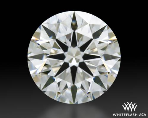 0.515 ct H VS1 A CUT ABOVE® Hearts and Arrows Super Ideal Round Cut Loose Diamond