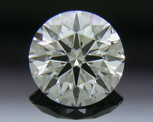 0.533 ct H SI1 A CUT ABOVE® Hearts and Arrows Super Ideal Round Cut Loose Diamond
