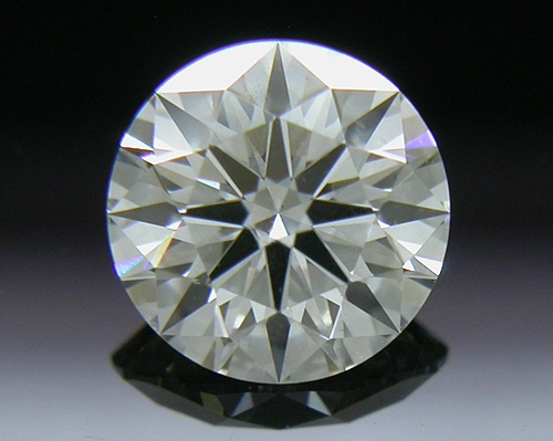 0.528 ct H SI1 A CUT ABOVE® Hearts and Arrows Super Ideal Round Cut Loose Diamond