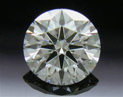 0.516 ct I SI1 A CUT ABOVE® Hearts and Arrows Super Ideal Round Cut Loose Diamond