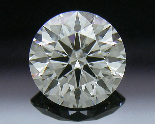 0.595 ct I SI1 A CUT ABOVE® Hearts and Arrows Super Ideal Round Cut Loose Diamond