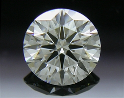 0.516 ct H VS2 A CUT ABOVE® Hearts and Arrows Super Ideal Round Cut Loose Diamond